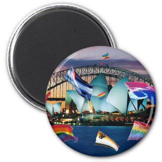 Sydney Pride 2 Inch Round Magnet