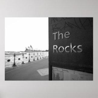 sydney rocks poster
