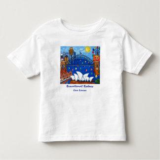 Sydney sensacional embroma la camiseta polera