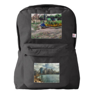 Sydney skyline american apparel™ backpack