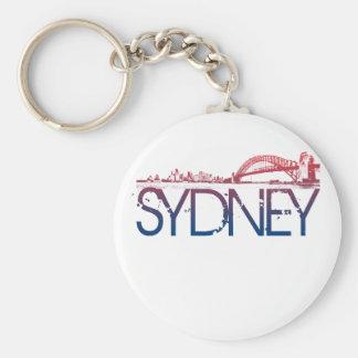 Sydney Skyline Design Keychain
