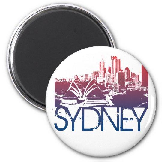 Sydney Skyline Design Magnet