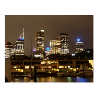 Sydney Skyline from Circular Quay Postcard