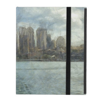 Sydney skyline iPad cover