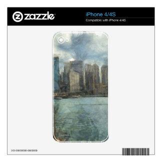 Sydney skyline iPhone 4S skins