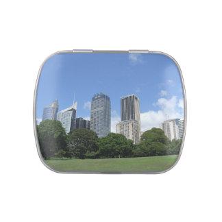 Sydney Skyline Jelly Belly Tin