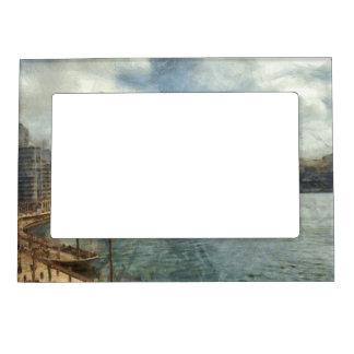 Sydney skyline magnetic frame