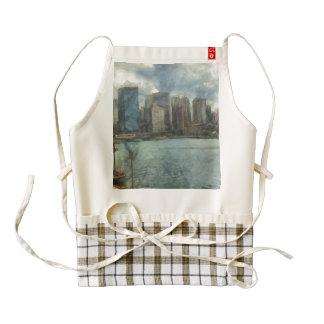 Sydney skyline zazzle HEART apron