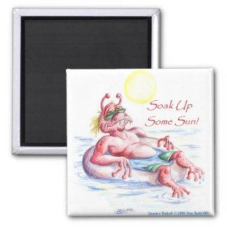 SYDNEY, Soak Up The Summer Sun Refrigerator Magnet