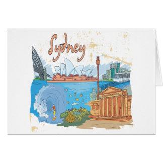 Sydney Tarjeta De Felicitación