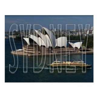 Sydney Tarjeta Postal