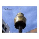 sydney tower postcard