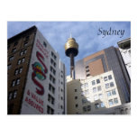 sydney tower quality postcard