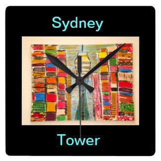SYDNEY TOWER WALL CLOCK