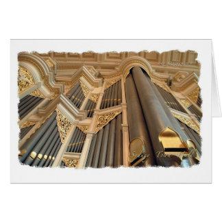 Sydney Town Hall organ card