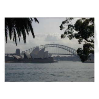 SydneyHarbor Stationery Note Card