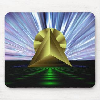 Syfy-Pyramid Mousepad