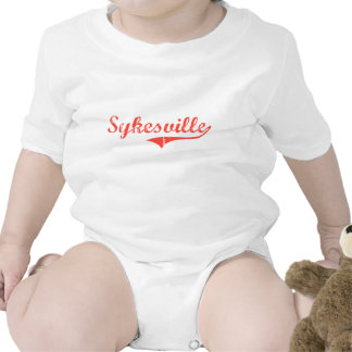 Sykesville Maryland Classic Design Bodysuits