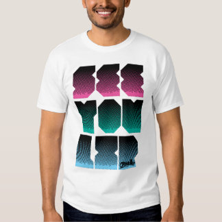 SYL  on Half-tone! T Shirt