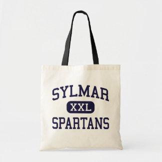 Sylmar - Spartans - altos - Sylmar California Bolsas Lienzo