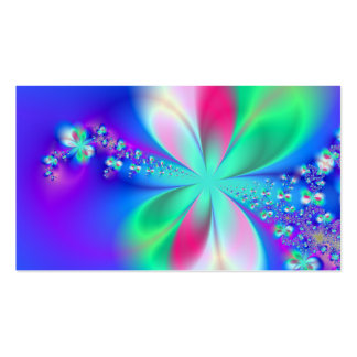 Sylph Dance Fractal Art Double-Sided Standard Business Cards (Pack Of 100)