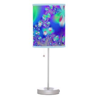 Sylph Dance Fractal Art Desk Lamps