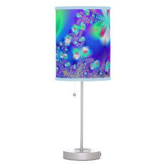 Sylph Dance Fractal Art Table Lamp