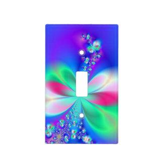 Sylph Dance Fractal Art Light Switch Plates