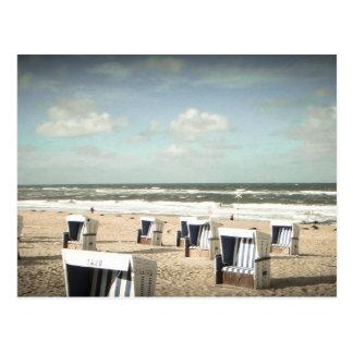 Sylt playa postales