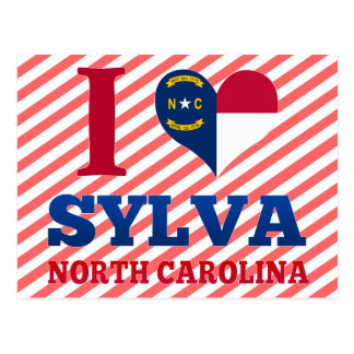 Sylva, North Carolina Postcard