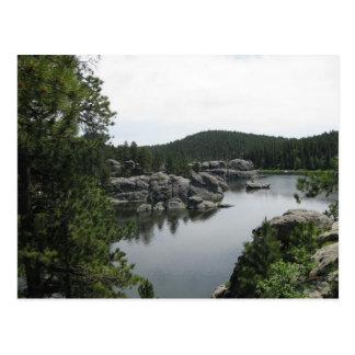 Sylvan Lake in South Dakota Postcard