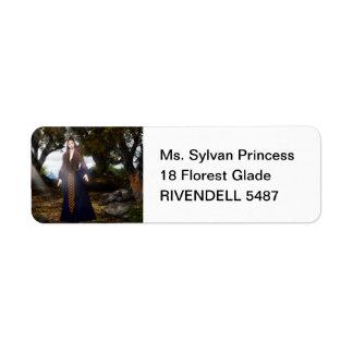 Sylvan Princess Label