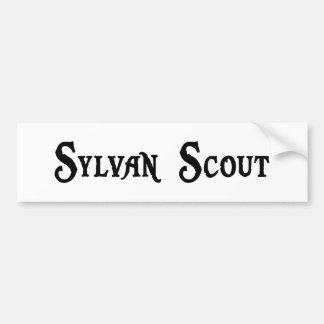 Sylvan Scout Bumper Sticker