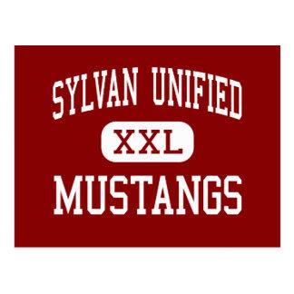 Sylvan unificó - los mustangos - el alto - postal