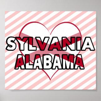 Sylvania, Alabama Poster
