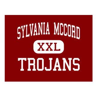 Sylvania McCord - Trojan - joven - Sylvania Ohio Tarjeta Postal