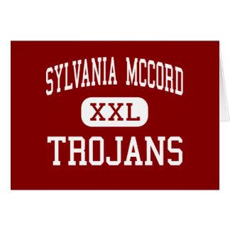 Sylvania McCord - Trojans - Junior - Sylvania Ohio Greeting Cards