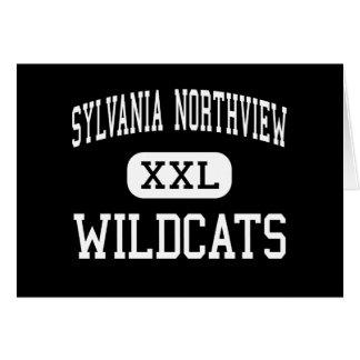 Sylvania Northview - Wildcats - High - Sylvania Greeting Card