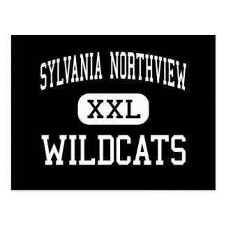 Sylvania Northview - Wildcats - High - Sylvania Post Card
