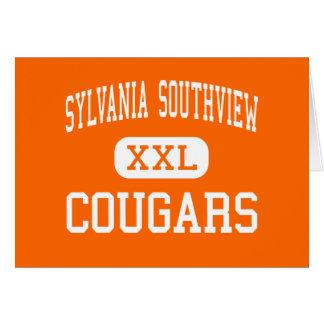 Sylvania Southview - Cougars - High - Sylvania Card