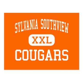 Sylvania Southview - Cougars - High - Sylvania Post Card