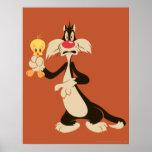 Sylvester con Tweety Impresiones