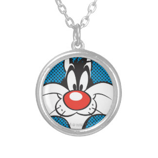 SYLVESTER™ Dotty Icon Silver Plated Necklace