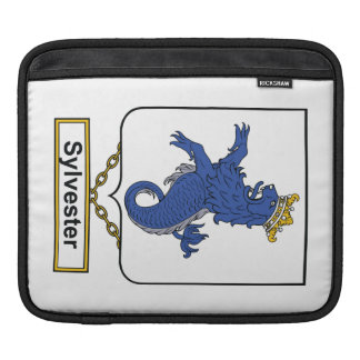 Sylvester Family Crest iPad Sleeve