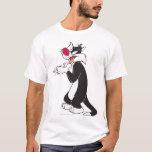 "SYLVESTER™ Rubbing Paws T-Shirt<br><div class=""desc"">Sylvester Character Art.</div>"