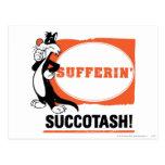 ¡SYLVESTER™ Sufferin Succotash! Postales