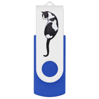 Sylvester the Cow Cat USB 3.0 32GB Flash Drive