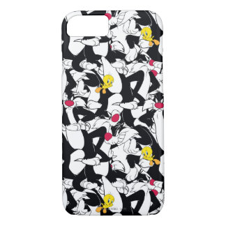 SYLVESTER™ & TWEETY™ Pattern iPhone 8/7 Case