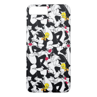 SYLVESTER™ & TWEETY™ Pattern iPhone 8 Plus/7 Plus Case