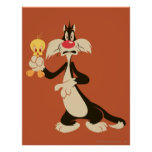 SYLVESTER™ with TWEETY™ Poster